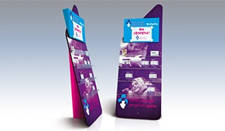 Folder display voor CJG