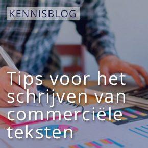 Tips voor het schrijven van commerciële teksten