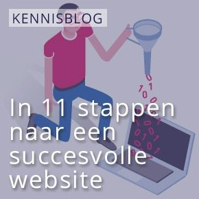 In 11 stappen naar een succesvolle website