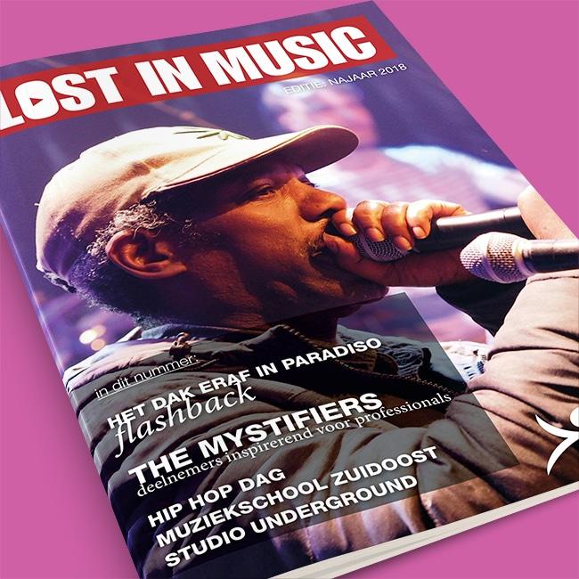 Tijdschrift 'Lost in Music'